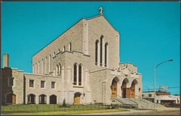 St Joseph's Roman Catholic Cathedral, Edmonton, Alberta, C.1960s - Provincial News Co Postcard - Edmonton