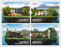 Portugal 2013 Set - Apiculture - Azores - 1910-... République