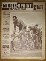 Miroir Sprint 534 27/08/1956 Cyclisme Hassenforder - Football Reims Nice St-Etienne Nancy Strasbourg - Dessin Pellos - Sport