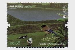 Portugal 2011 Set - Acores Europa Forests - 1910-... République