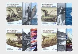 Portugal 2011 Set - Whaling Heritage - AZORES - 1910-... République
