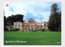 Portugal 2011 Miniature Sheet - Madeira Island Quintas - 1910-... République