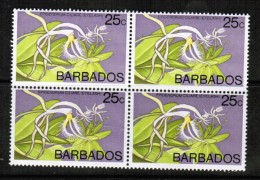 BARBADOS   Scott # 405** VF MINT NH BLOCK Of 4 - Barbados (1966-...)