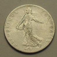 1908 - France - 50 CENTIMES, Semeuse, Argent, Silver, KM 854, Gad 420 - G. 50 Centimes