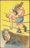 A Balanche - T'en Fait Pas C'est Un Ancient Parachutiste!, C.1950s - MD CPSM - Humour