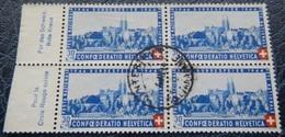 "Pro Patria 1944: ""Basel"" Zu 25 Mi 434 Yv 398 Mit O WINTERTHUR 4.VII.44 (Zu CHF 140.00) - Pro Patria"