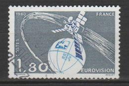 "FRANCE ,N° 2073 "" EUROVISION "" - Space"