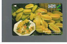 MALESIA  (MALAYSIA) -         STARFRUIT   (AVERRHOA CARAMBOLA)      - USED - RIF. 10363 - Malaysia