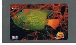 MALESIA  (MALAYSIA) -        FISHES: BLUE FISH  - USED - RIF. 10364 - Malaysia