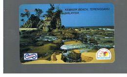 MALESIA  (MALAYSIA) -      KEMASIK BEACH  - USED - RIF. 10364 - Malaysia