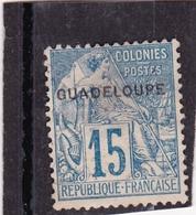 Guadeloupe N°19 - Guadeloupe (1884-1947)