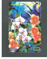 MALESIA  (MALAYSIA) -      FLOWERS: ANGGERIK  - USED - RIF. 10365 - Malaysia