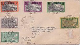 TOGO - DEVANT DE LETTRE LOME POUR USA 1931 - Togo (1914-1960)