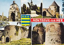 62 MONTREUIL  SUR MER / MULTIVUES S/ BLASON - Montreuil
