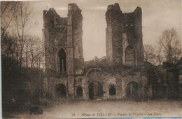 Villers La Ville  Abbaye De Villers Facade De L Eglise Les Tours - Villers-la-Ville