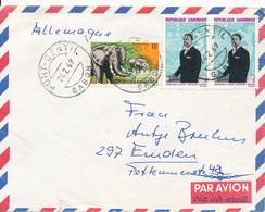 PORT-GENTIL / GABUN - 1969 , Brief Nach Emden - Gabun (1960-...)
