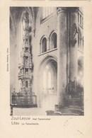 ZOUTLEEUW / TABENAKEL VAN DE KERK  1902 - Zoutleeuw