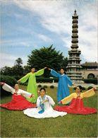 COREE DU SUD  - SEOUL - Danse Tradionnelle Devant Une Pagode - - Korea (Süd)