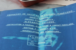 TOURNAI VAULX GAURAIN-RAMECROIX Carrieres ALEXANDRE DAPSENS Usine De Ciment Portland  Nomenclature Des Debrayeurs 15.02. - Tools
