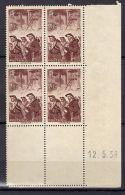 """FRANCE ( POSTE ) : Y&T  N° 390 """" COIN  DATE """" DU  12/05/1938  TIMBRES  NEUFS  SANS  GOMME, A  VOIR . - 1930-1939"""