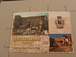 """Castello Medioevale - Veduta Roccavaldina - Festa """"Convito 2000"""" - N. 0805 - Viaggiata - (3130) - Italia"""