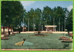 ROMILLY-SUR-SEINE - La Béchère Son Kiosque Et Ses Parterres Fleuris Carte Circulé 1967 - Romilly-sur-Seine
