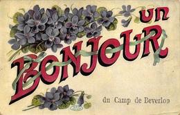Leopoldsburg  Kamp Van Beverloo  Un Bonjour Du Camp De Beverloo            I 3238 - Leopoldsburg (Kamp Van Beverloo)