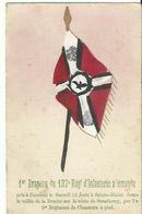1er Drapeau Du 132t Régiment D'infanterie Allemande Pris à L'ennemi - Guerre 1914-18