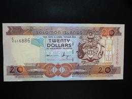 SALOMONS : 20 DOLLARS  ND 2006  P 28    Presque NEUF - Solomon Islands
