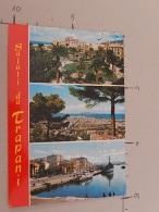 Trapani - Piazza Vittorio Emanuele E Fontana Del Tritone - Il Porto - Viaggiata - (3099) - Trapani