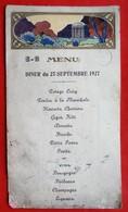 Menu Publicitaire 51 CHALONS SUR MARNE 1927 Par Kossuth - Menus