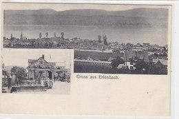 Gruss Aus Erlenbach - Restaurant Blume - 1906         (P-125-50110) - ZH Zurich