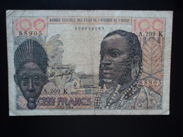 SÉNÉGAL : 100 FRANCS  2.12.1964   P 701Kd *   TTB - Sénégal