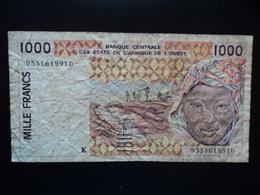 SÉNÉGAL : 1000 FRANCS  (19)95   P 711Ke *   TTB Sale - Sénégal