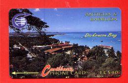 "ANTIGUA & BARBOUDA: 1992 ANT-5A ""Dickenson Bay"" 40$ CN:5CATA. Old (1992) & Rare (24.000ex). Used - Antigua And Barbuda"