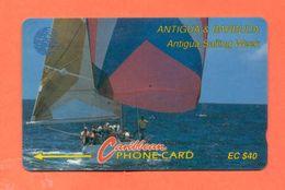 "ANTIGUA & BARBUDA: ANT-7C ""Sailing Week 1"" CN:7CATC (1993) - Antigua And Barbuda"