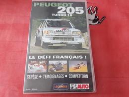 Cassette Vidéo Peugeot 205 Turbo 16 - Sports