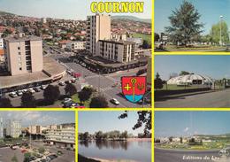 63 COURNON / MULTIVUES / BLASON - Autres Communes