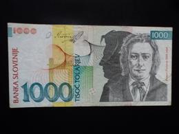 SLOVÉNIE : 1000 TOLARJEV   1.6.1993   P 18   TTB - Slovénie