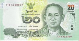Thailand - Pick New - 20 Baht 2017 - Unc - Commemorative - Thaïlande