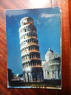 16722) PISA TORRE E ABSIDE DEL DUOMO NOTTURNO VIAGGIATA - Pisa