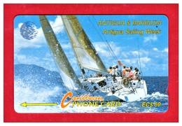 "ANTIGUA & BARBUDA: 1993 ANT-7E ""Sailing Week 1"" EC $60 CN:7CATE. Rare (5.000ex). Used - Antigua And Barbuda"