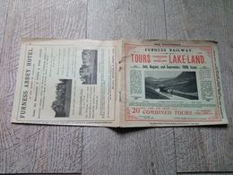 Tours Through The English Lake-land 1908 Lakeland England Guide - Exploration/Voyages