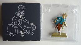 FIGURINE EN METAL EN DEMI RONDE BOSSE TINTIN Coke En Stock (2) En Boîte ATLAS LES ARCHIVES HERGÉ - Tintin