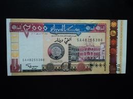 SOUDAN : 2000 DINARS  2002 - 1422   P 62a   Presque NEUF - Sudan