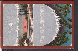 Postkarte Weihnachten  Geprägt  1909 - Weihnachten