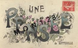 UNE PENSEE DE SOTTEVILLE (76) - Sotteville Les Rouen