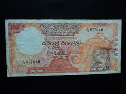 SRI LANKA : 100 RUPEES   5.4.1990  P 99d     TTB - Sri Lanka