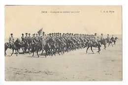 Cosaques Se Rendant Au Front  -  - L 1 - Guerre 1914-18
