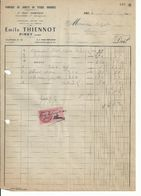 Facture Jouet Ancien EMILE THIENNOT PINEY (aube) Poupées - 1900 – 1949